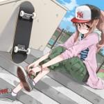 【ナンパ】可愛い系ストリート女子を準即!ちな処女。(53人目)