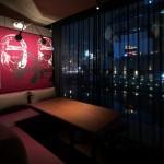 【大阪】完全個室のL字型シートがあるダイニングバー「BLEU(ブルー)」