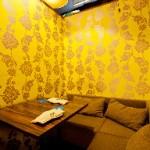 【梅田】半個室のL字型シートがある居酒屋「PLUM」